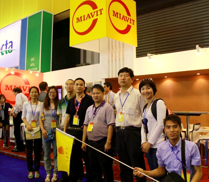 广州日锋联合比利时浩卫公司组织规模养殖企业赴泰国